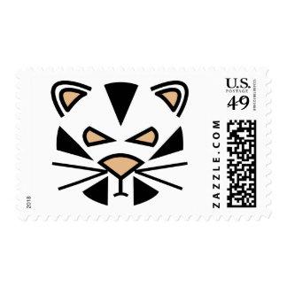 tigre grouching sello
