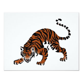 Tigre Invitaciones Personales