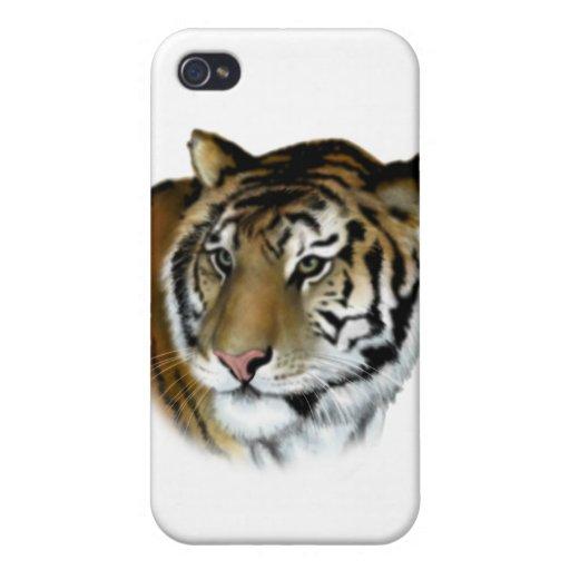 tigre iPhone 4 funda