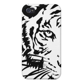 Tigre iPhone 4 Fundas
