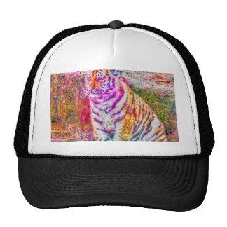 Tigre joven Animal-pintado extracto Gorra