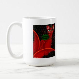 Tigre Lilly, taza de café de hadas del gatito de