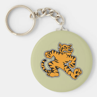 Tigre lindo llaveros personalizados