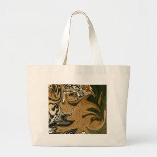 Tigre líquido bolsa tela grande