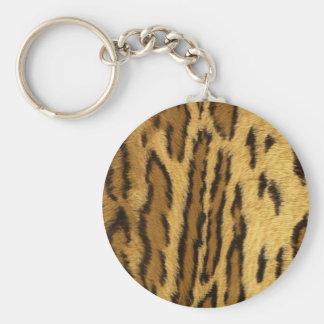 tigre llavero redondo tipo pin