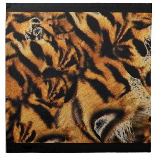 Tigre Love_ Servilleta Imprimida