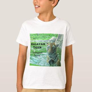 Tigre malayo - especie en peligro polera