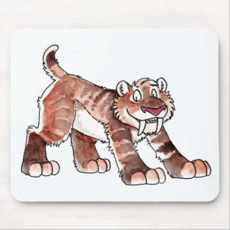 Tigre Mousepad de Sabretooth Alfombrillas De Raton