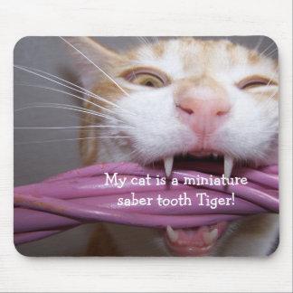 tigre Mousepad del diente del sable