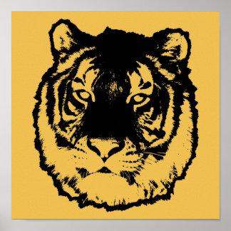 Tigre negro póster