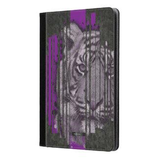 Tigre negro púrpura