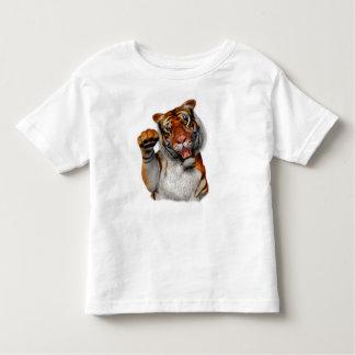 Tigre, niño del tigre playera de niño