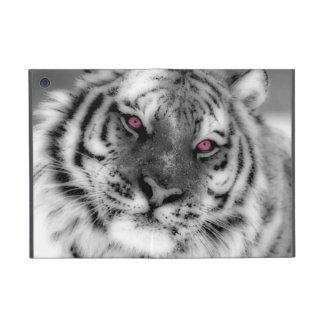Tigre observado rosa iPad mini protector