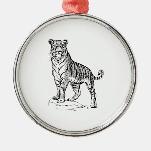 Tigre Ornamentos De Reyes Magos