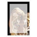 Tigre (Panthera el Tigris) Personalized Stationery