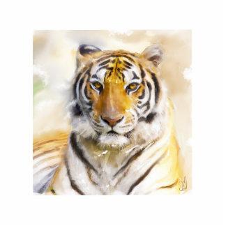 tigre pin fotoescultura
