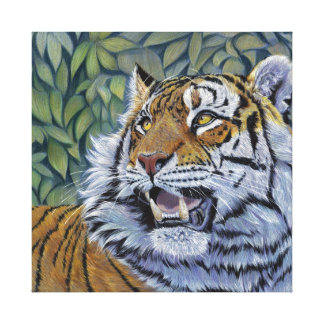 Tigre por la impresión de Svetlana Ledneva-Schukin Impresiones En Lona