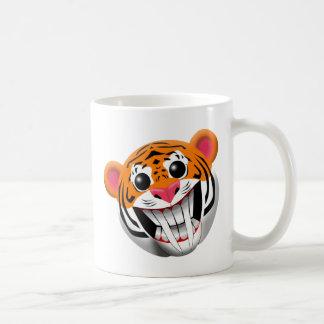 tigre sable-dentado taza clásica