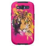 Tigre Samsung de la pintada Galaxy SIII Carcasa