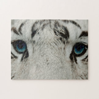 Tigre siberiano blanco rompecabezas con fotos