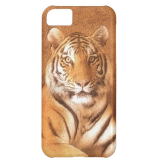 Tigre siberiano - caso del iPhone 5C Funda Para iPhone 5C