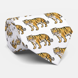 Tigre siberiano corbatas personalizadas