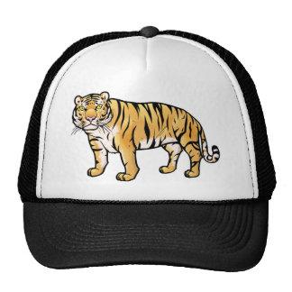 Tigre siberiano gorros bordados