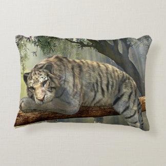 Tigre siberiano perezoso cojín