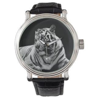 Tigre siberiano relojes de mano