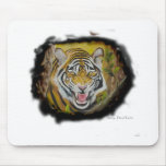 Tigre siberiano tapetes de ratón