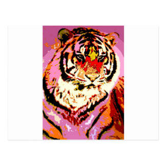 Tigre siberiano tarjetas postales