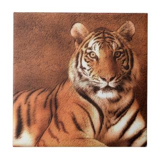 Tigre siberiano - teja