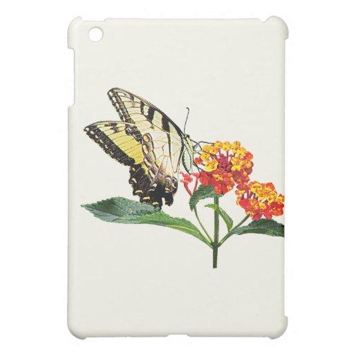 Tigre Swallowtail en Lantanas