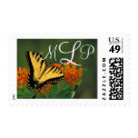 Tigre Swallowtail - franqueo del monograma