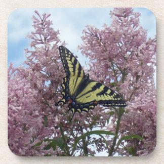 Tigre Swallowtail_lilacs Posavasos De Bebidas