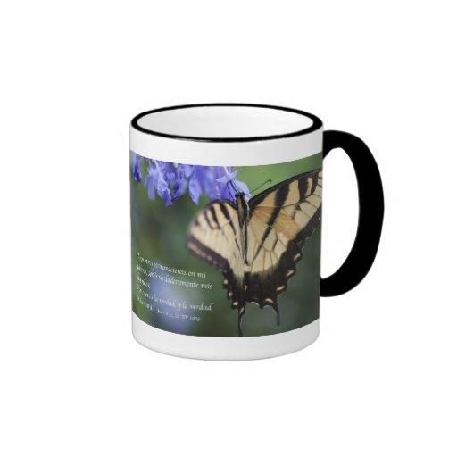 Tigre Swallowtail Tazon de Mariposa de la estafa d Taza De Café