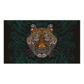Tigre - tarjeta de visita