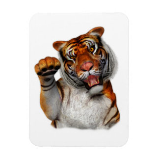 Tigre, tigre imán de vinilo