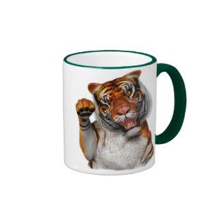 Tigre, tigre taza de dos colores