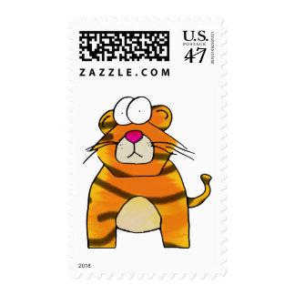 Tigre timorato sello