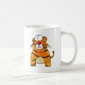 Tigre timorato taza clásica