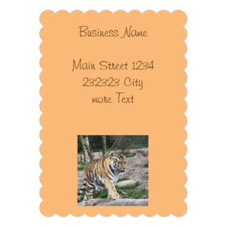 """tigre toony invitación 5"""" x 7"""""""