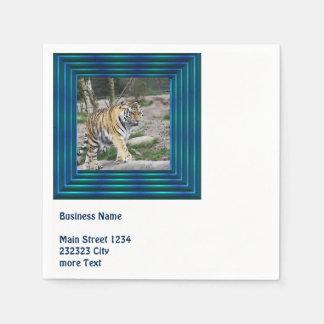 tigre toony servilleta de papel