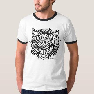 Tigre tribal camisas