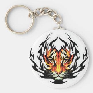 Tigre tribal llavero
