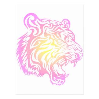 Tigre tribal postal