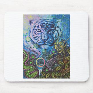 Tigre Vision Alfombrilla De Ratones
