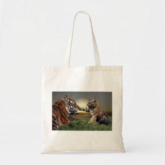 Tigre y bolso de Cub Bolsas
