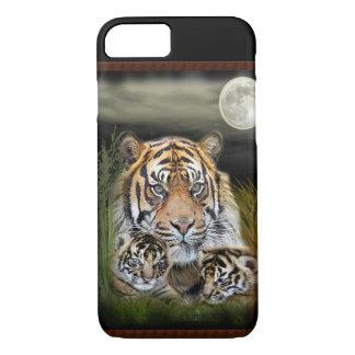 Tigre y cachorros funda iPhone 7