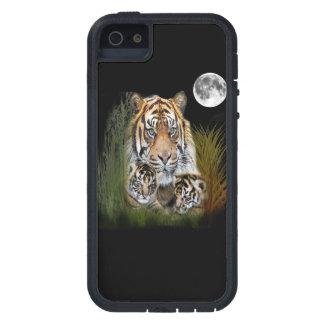 Tigre y cachorros funda para iPhone SE/5/5s